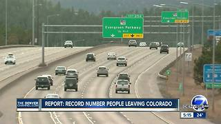 Report: Record number of people leaving Colorado - Video