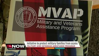 Florida's AG launches consumer protection initiative to protect vets, military from scams - Video