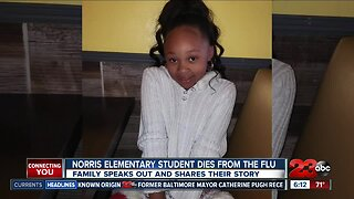 Norris Elementary diagnosed with flu and dies shortly after