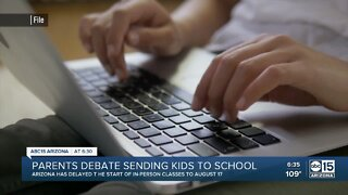 Parents debate sending kids back to school