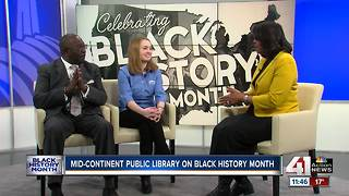 Mid-Continent Public Library and Negro Leagues Baseball Museum team up for Black History Month - Video