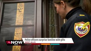 West Allis Police surprise community with gifts thanks to anonymous donor