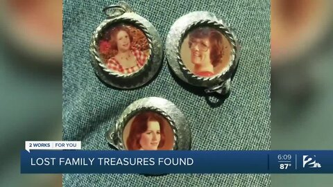 Lost family treasures found