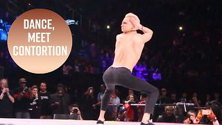 This dancer gives new meaning to 'the twist' - Video