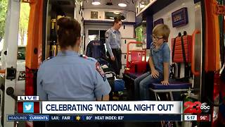 Live weather at KCSO National Night Out 2018 - Video