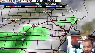 Tracking rain & cold - Video