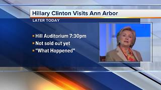 Hillary Clinton to visit Ann Arbor - Video