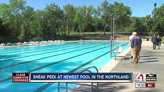KC's newest public pool opens today - Video