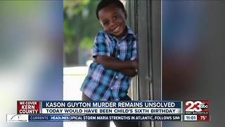 Murder of Kason Guyton remains unsolved - Video