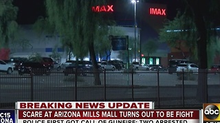Shooting scare at Arizona Mills Mall sends shoppers running - Video