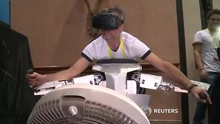Selfie drones, personal robots, VR, center stage at CES - Video