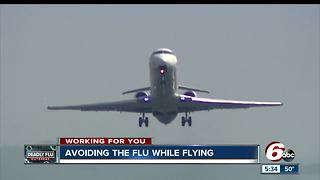 Flying Flu-Free: Ways to avoid catching the flu bug on a plane - Video