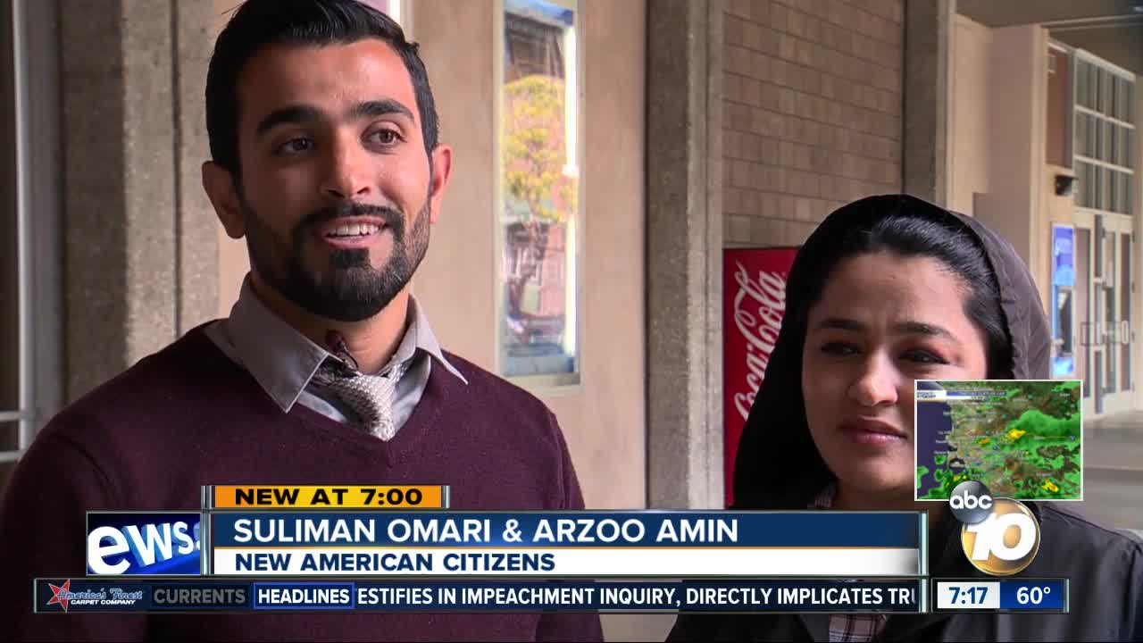 New citizens sworn in at naturalization ceremony