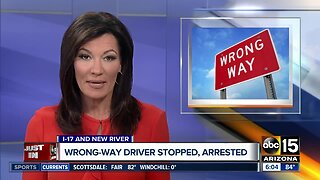 Wrong-way driver stopped after 37 miles