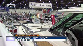 Detroit Boat Show 2018 - Video