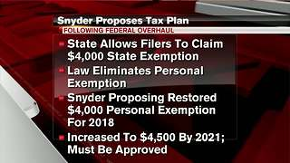 Michigan moves to boost personal state tax exemption