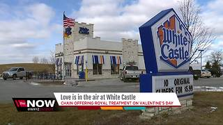 Love is in the air at White Castle - Video