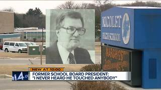 Former Nicolet board president warned teacher accused of sexual abuse