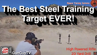 The Most Incredible Steel Target I've Ever Seen!