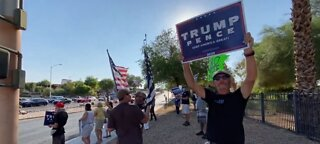Hundreds protest Nevada mail-in ballot law amid unfounded voter fraud claims