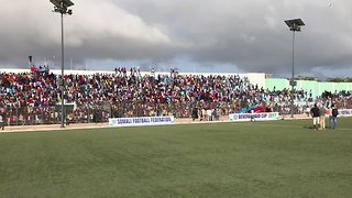 Thousands Rally in Mogadishu Stadium to Protest Al-Shabaab - Video