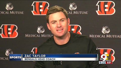 Bengals players step lightly into Zac Taylor Era