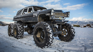 Mortis The 6x6 Monster Hearse | RIDICULOUS RIDES - Video