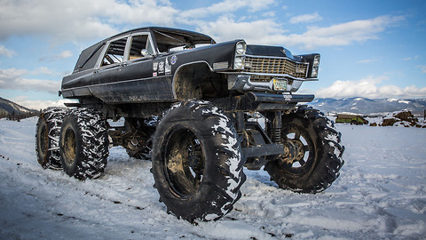 Mortis The 6x6 Monster Hearse | RIDICULOUS RIDES