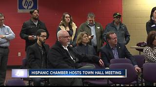 Hispanic town hall meeting focused on education