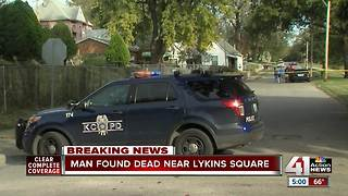 Man found dead near Lykins Square - Video