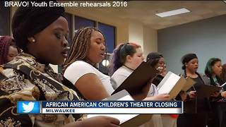 African American Children's Theatre Closing - Video