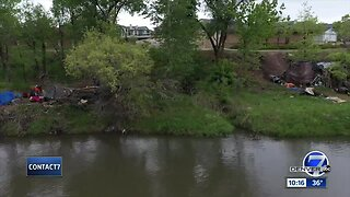 Englewood will clean up homeless camps along the South Platte River