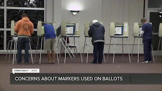Yes, your ballot still counts if you used a sharpie