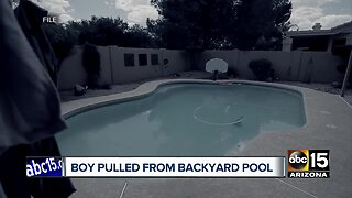 3-year-old boy pulled from backyard pool