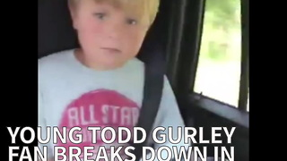 Young Todd Gurley Fan Breaks Down In Tears After He Learns He's Going To The Game - Video