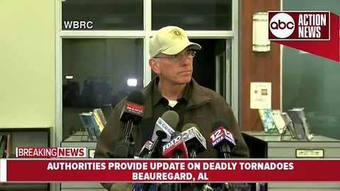 Authorities provide update on deadly tornadoes in Alabama, Georgia