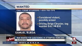 Deputies searching for suspect in Hendry County shooting Saturday