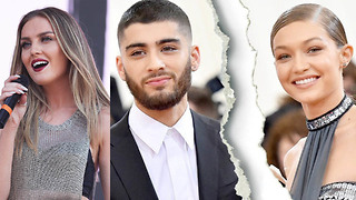 Perrie Edwards RESPONDS To Gigi Hadid Zayn Malik Breakup! - Video