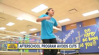 Afterschool Program avoids cuts - Video