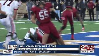 Owasso defeats Union, 21-14, to win Class 6A-I State Championship - Video