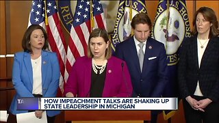 How impeachment talks are shaking up state leadership in Michigan