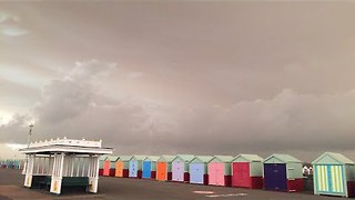 'Foreboding Sky' Deters Tourists in British Holiday Town - Video