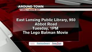 Around Town 8/7/17: Family Movie Day - Video
