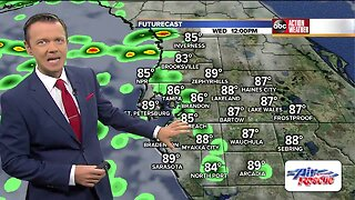 Florida's Most Accurate Forecast with Greg Dee on Wednesday, July 10, 2019