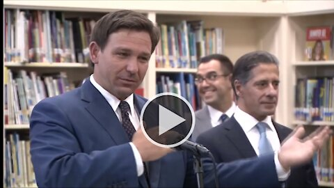 Governor DeSantis Signs Early Learning and Early Grade Success Bill in Miami 5/4/21