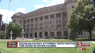 Douglas County attorney tests positive for COVID-19