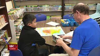 Reading Coaches for Kids program helps students improve their literacy skills