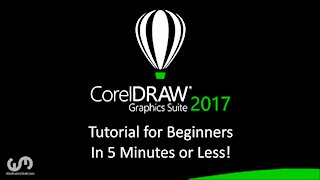 Coreldraw Tutorial for Beginners in 5 Minutes or Less