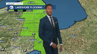 Staying mild with rain on the way