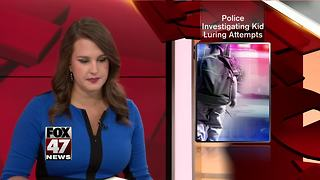 Police investigating multiple reports of attempted child abductions - Video
